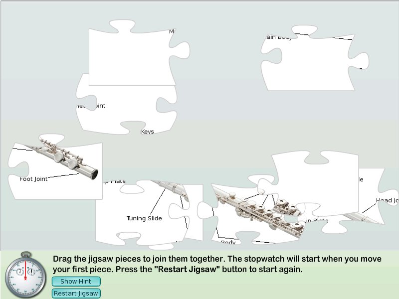 Flute Jigsaw